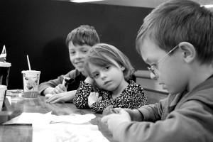 Kinder bei McDonald's CC